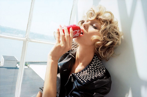 Anja Rubik by Katja Rahlwes for Self Service #31 AW 2009