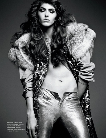 Dafne Cejas by Greg Kadel for Numéro November 2010