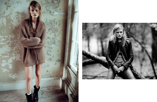 Edita Vilkeviciute for Muse Magazine Winter 2010 by Lachlan Bailey