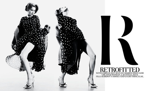 Laetitia Casta by Willy Vanderperre for NY Times T Style Fall 2010
