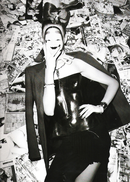 La Geisha – Freja Beha Erichsen by Terry Richardson for Vogue Paris November 2010