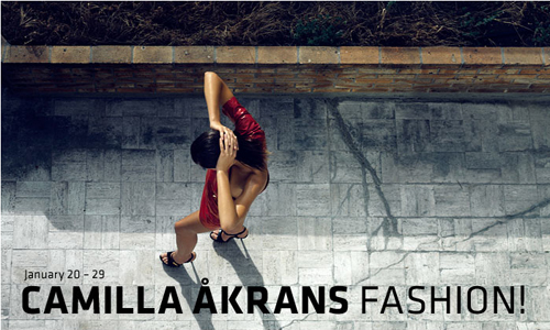 Camilla Akrans Fashion! Photography Exhibition, January 20-29 in Berlin