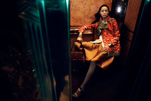 Fei Fei Sun by Lachlan Bailey for Vogue China January 2012