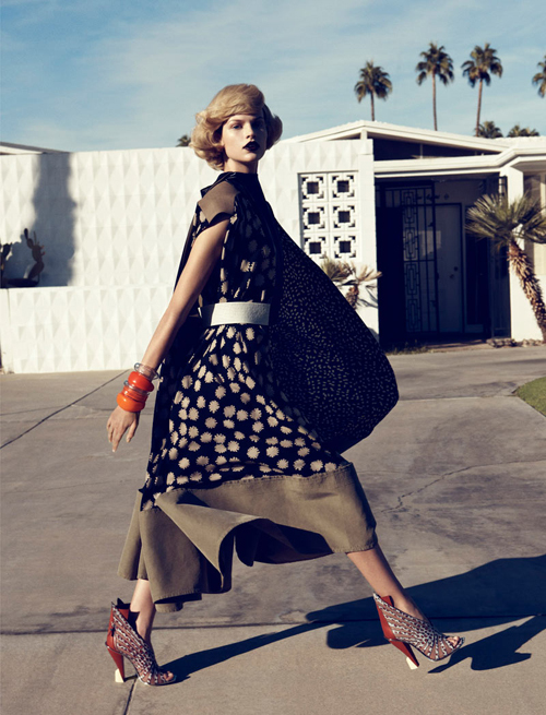 Bette Franke by Lachlan Bailey for Harpers Bazaar February 2012