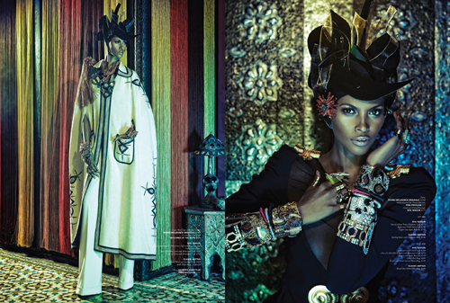 Mistress of the Marrocan Manor – Yasmin Warsame by Dan Lim for YYZ Living
