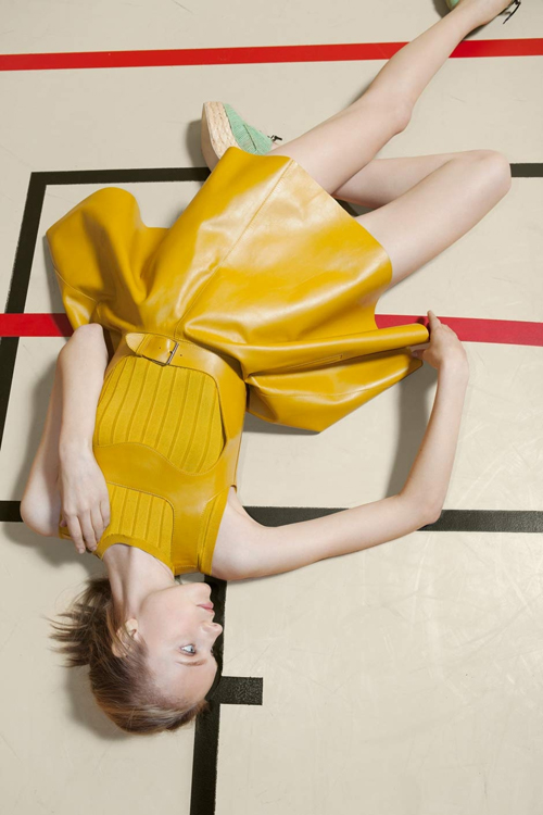 Nimue Smit by Viviane Sassen for Carven Spring/Summer 2012