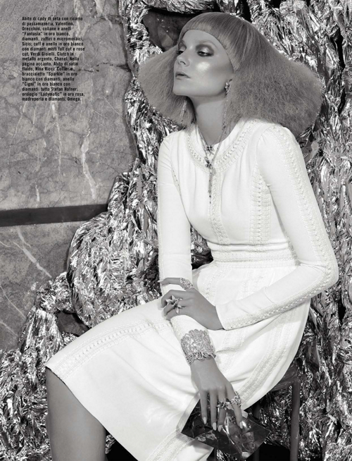 Eniko Mihalik by David Dunan for Vogue Italy October 2012