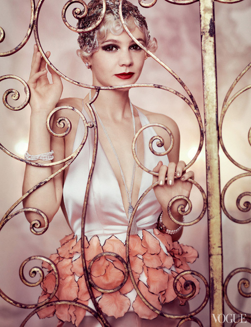 Carey Mulligan by Mario Testino for Vogue US May 2013